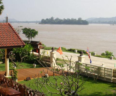 Hôtel traditionnel au Laos